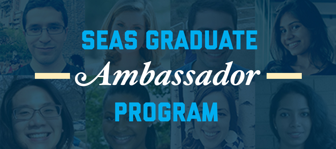 Banner image for graduate ambassador program
