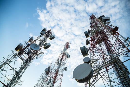 Telecommunications satellite towers