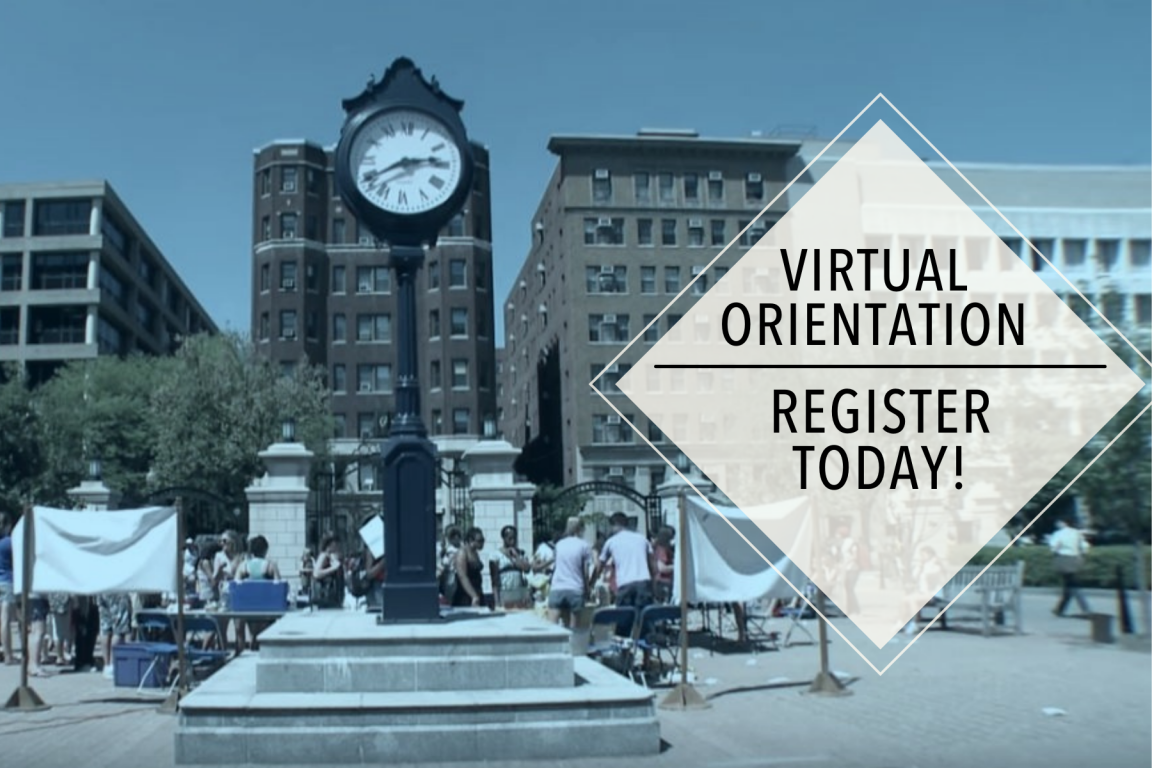 Sign up for virtual graduate student orientation